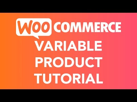 How To Create A Variable Product   WooCommerce