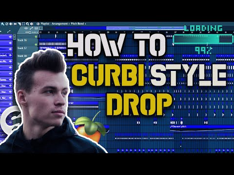 How To: Curbi Style Drop | FL STUDIO 20 Tutorial | FLP DOWNLOAD
