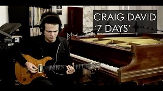 Craig David - 7 DAYS - Guitar Cover by Adam Lee (SGS #001)