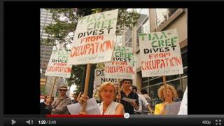 TIAA-CREF Divest from Israeli Occupation