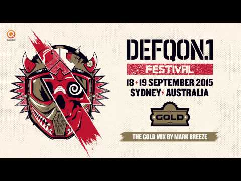 Defqon.1 Australia 2015 | GOLD mix by Mark Breeze