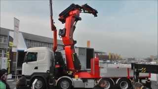 Palfinger PK165002 TEC7 - Transport CH 2015 - Bern