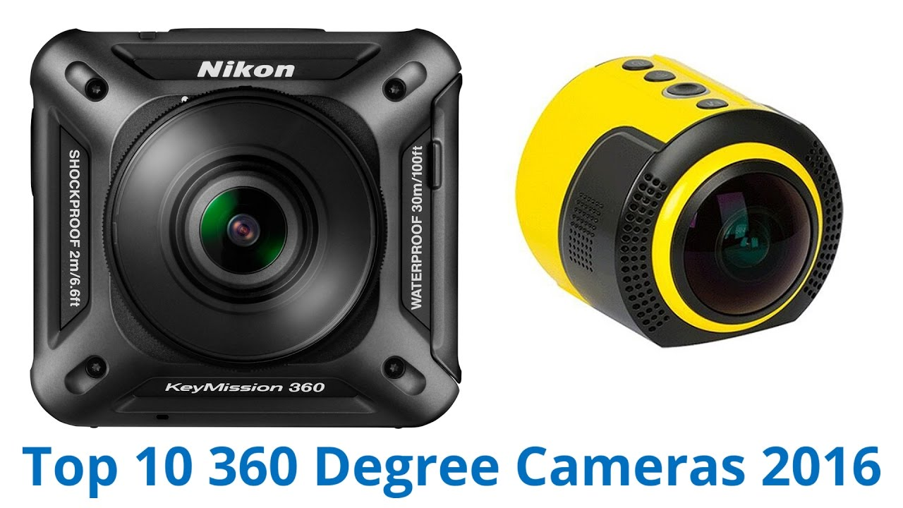 10 Best 360 Degree Cameras 2016 - YouTube