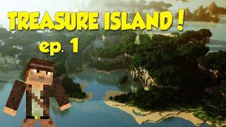 TREASURE ISLAND! - Minecraft Survival Gameplay ep. 1