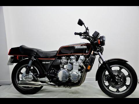 Kawasaki KZ1300 1979 Black