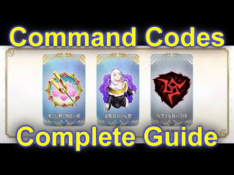 Fate/Grand Order – Complete Guide to Command Codes