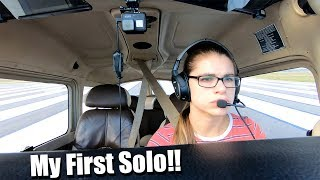Ivette's First Flight Solo - Ft. Myers, Fl