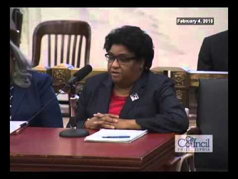 Public Hearing: Committee of the Whole - 2-4-2016