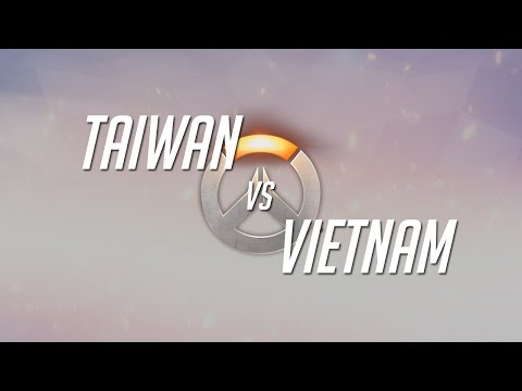 Overwatch World Cup 2016 APAC Group Stage - Taiwan vs Vietnam