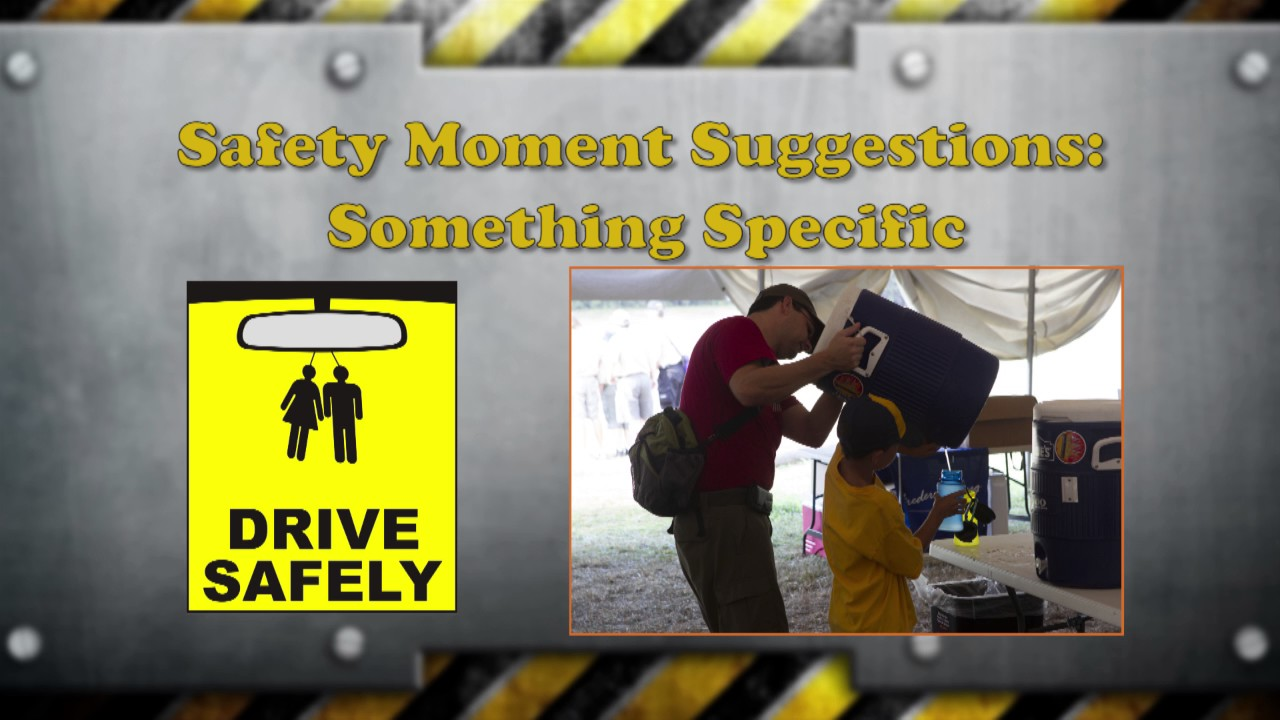 Safety Moments   Boy Scouts of America