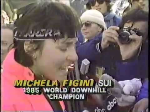 1985 FIS World Alpine Ski Championships   Women's Downhill and Men's Downhill