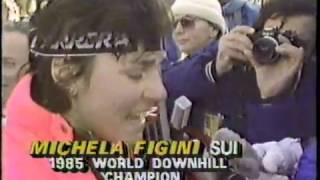 1985 FIS World Alpine Ski Championships   Women's Downhill and Men's Downhill
