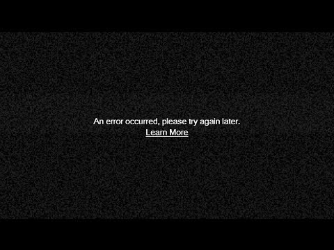 error video