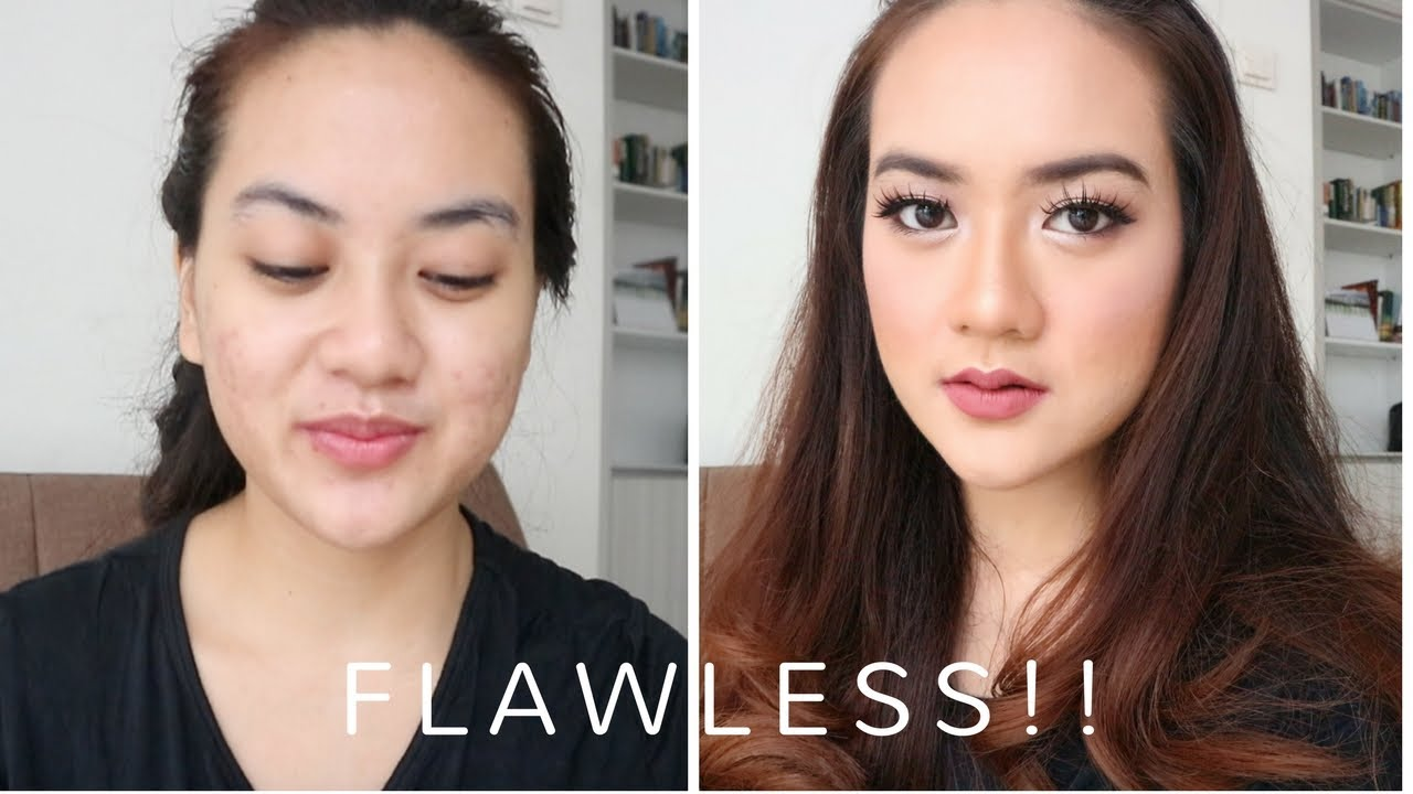 how to get flawless makeup with acne
