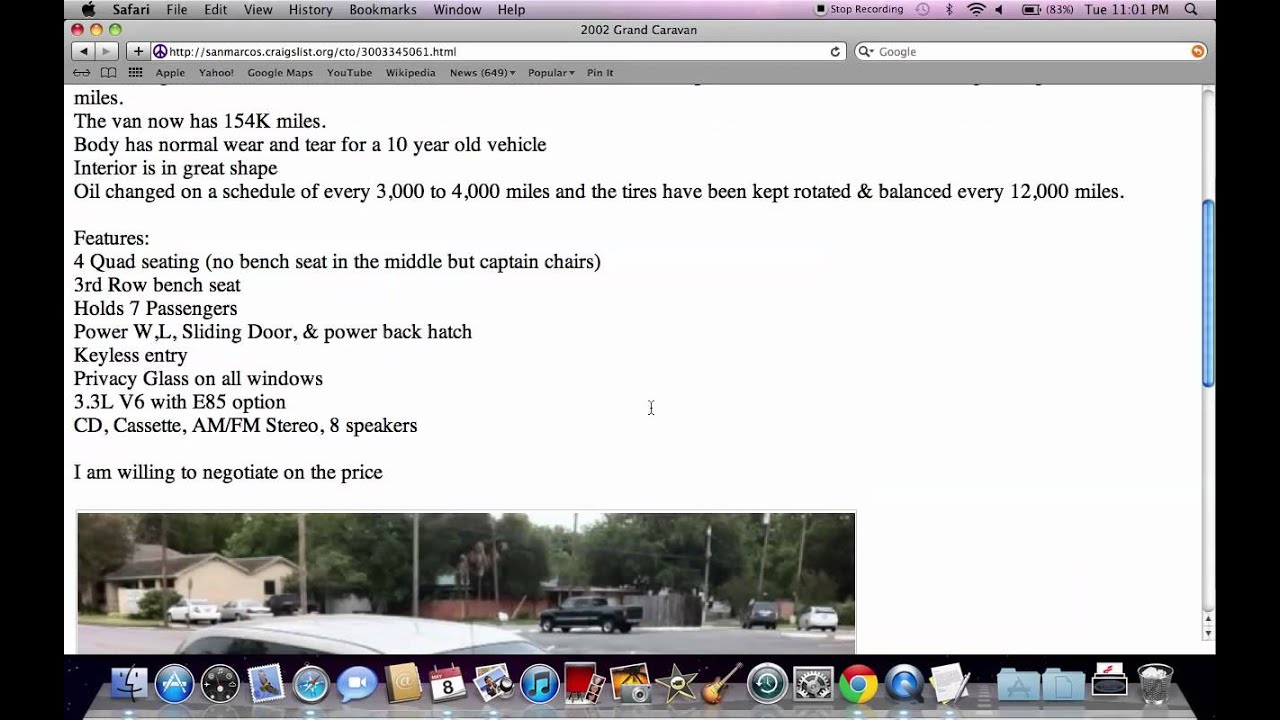 Craigslist San Marcos Texas - Used Cars and Trucks Under $3500 in May 2012