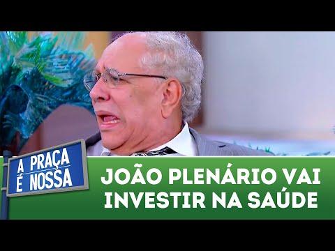 João Plenário vai investir na saúde   A Praça é Nossa (16/08/18)