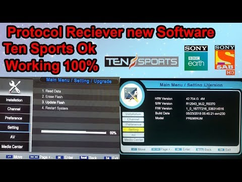 protocol receiver new software 2019|How to open ten sports on protocol  receiver