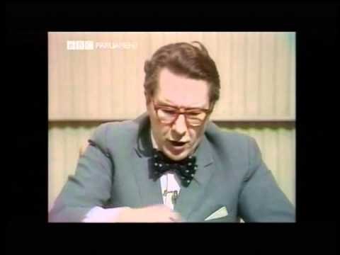 David Dimbleby -- Election 1974