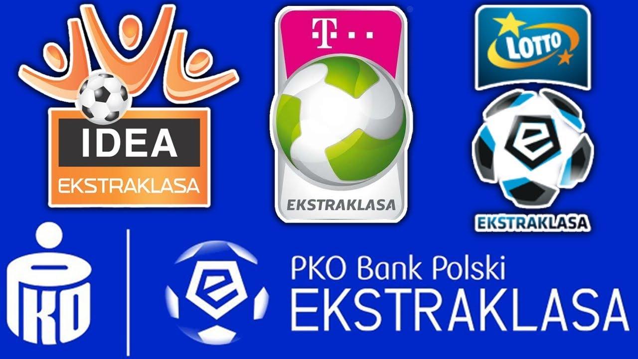 ⚽Ekstraklasa – Sponsorzy Tytularni | PKO Bank Polski, Lotto, T-Mobile, Orange, Idea