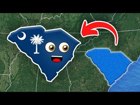 South Carolina for Kids/South Carolina State Counties for Kids