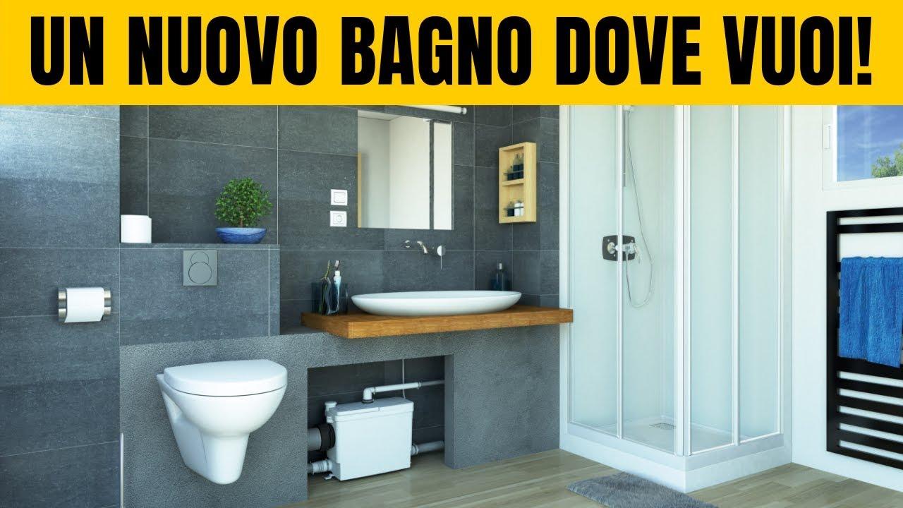 Come Fare Bidet A Letto sanitrit: come realizzare un bagno anche senza gli scarichi!