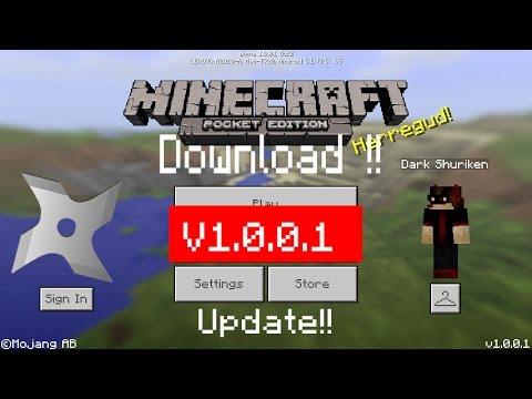 minecraft pe apk 1.0.0.0 download