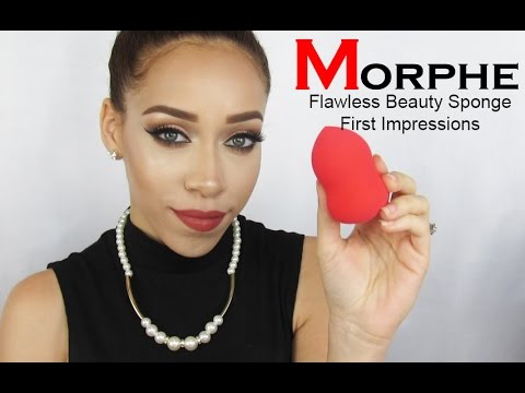 Morphe Flawless Beauty Sponge First Impressions | Comparison to Beauty Blender