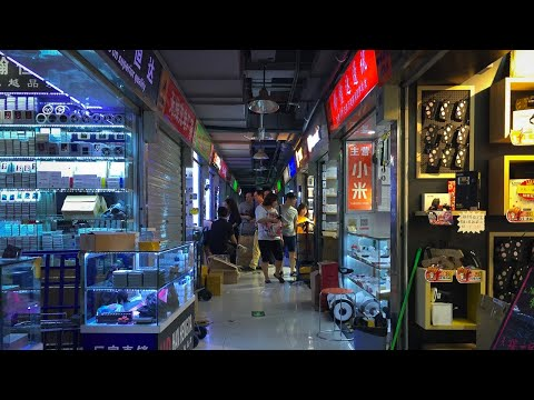 Shenzhen Electronics Market Huaqiangbei