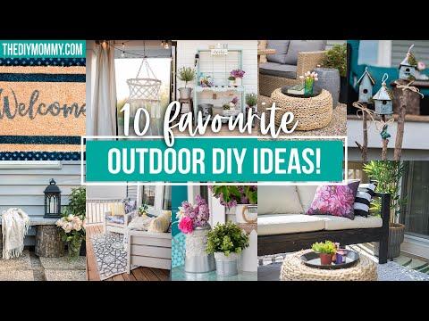 10 Outdoor DIY Projects that look amazing! | Outdoor DIY & Décor Challenge