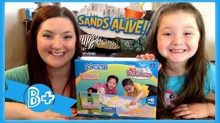 Repeat youtube video Sands Alive Starter Kit Opening & Review! |Daisy's Toy Vlog|