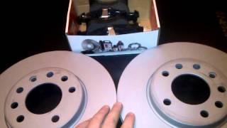 Видеообзор тормозных дисков Otto Zimmermann и колодок FERODO