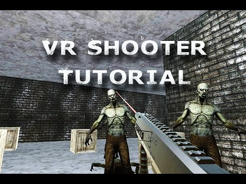 How to Virtual Reality App FPS Game for Beginners with Unity and GoogleVR