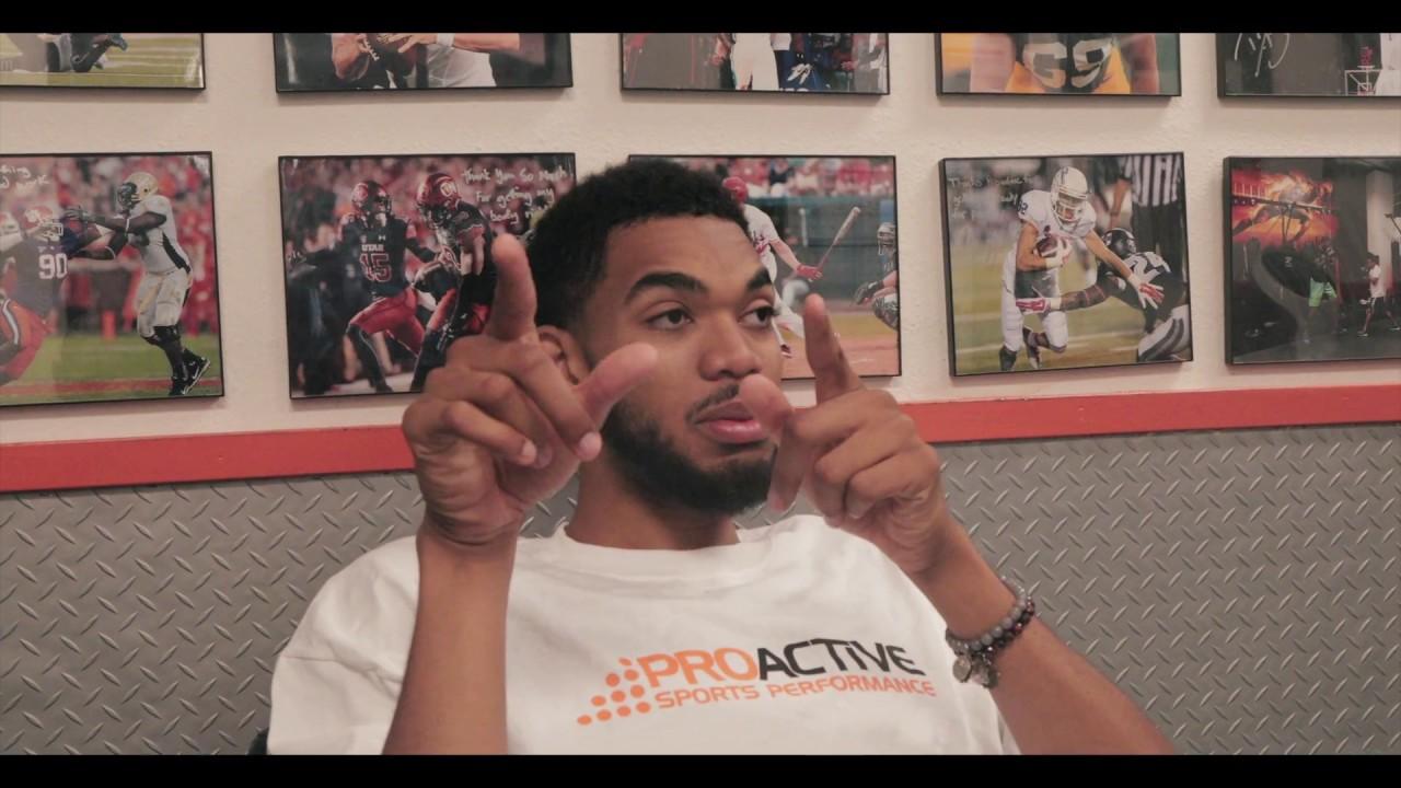 Karl Anthony Towns ESPN BODY MAGAZINE | SHOOT DAY EPISODE 3