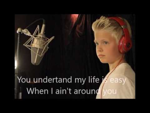 Problem-Carson Lueders (Lyrics by TheoBGrap)