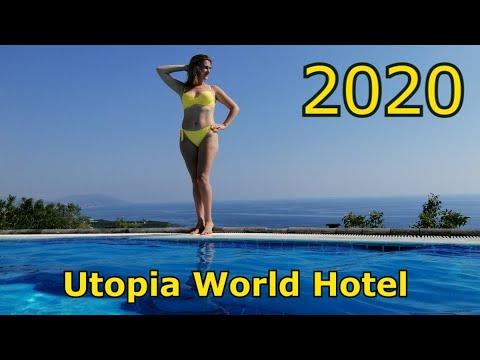 VLOG: Отель Utopia World Hotel 5* пляж территория Утопия ворлд Турция