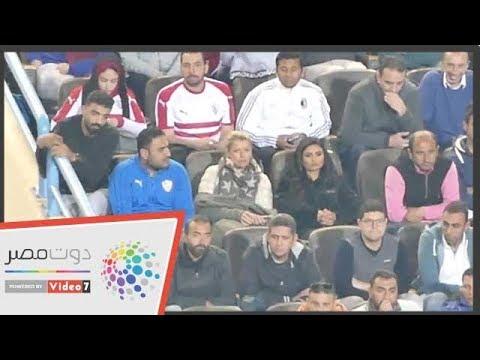 زوجة جروس تؤازر الزمالك أمام المقاولون العرب فى الدوري