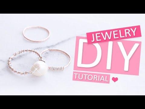 DIY Tutorial – Ringen van Artistic Wire - Zelf sieraden maken