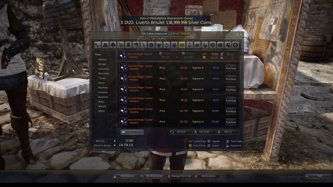 black desert online how to sell on marketplace