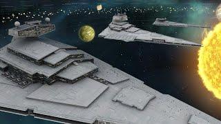 The New Order (Ship sizes introduction). Stellaris Star Wars Mod Dev Diary 12. SFFA mod.