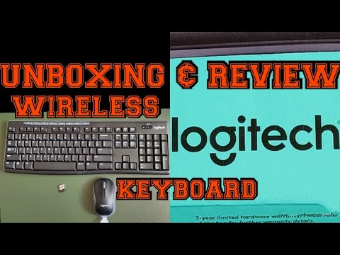 (HINDI) UNBOXING & REVIEW OF LOGITECH WIRELESS KEYBOARD MK270R