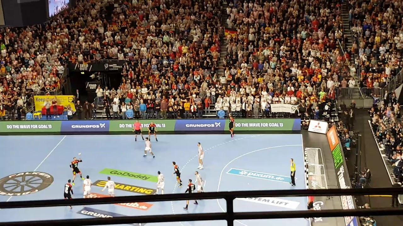 Handball WM 2019 Deutschland - Kroatien Live - Abpfiff ...