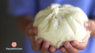 Char siu bao, Steamed BBQ pork buns (Bánh bao xá xíu)