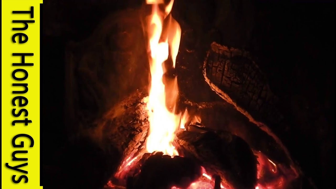 3 HOUR Fireplace (With Sound) Sleep, Insomnia, Study, Relaxation ...