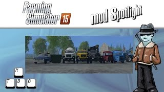 Farming Simulator 15 Mod Spotlight - More Trucks!