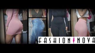 vuclip Fashion Nova Try-on haul   HeyParis