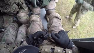 2-10 Assault Helicopter Battalion air assault training with 2nd Cavalry Regiment