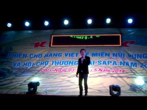 Châu Việt Cường hát live tại sapa 8-5-2014 cực HÓT - Hài