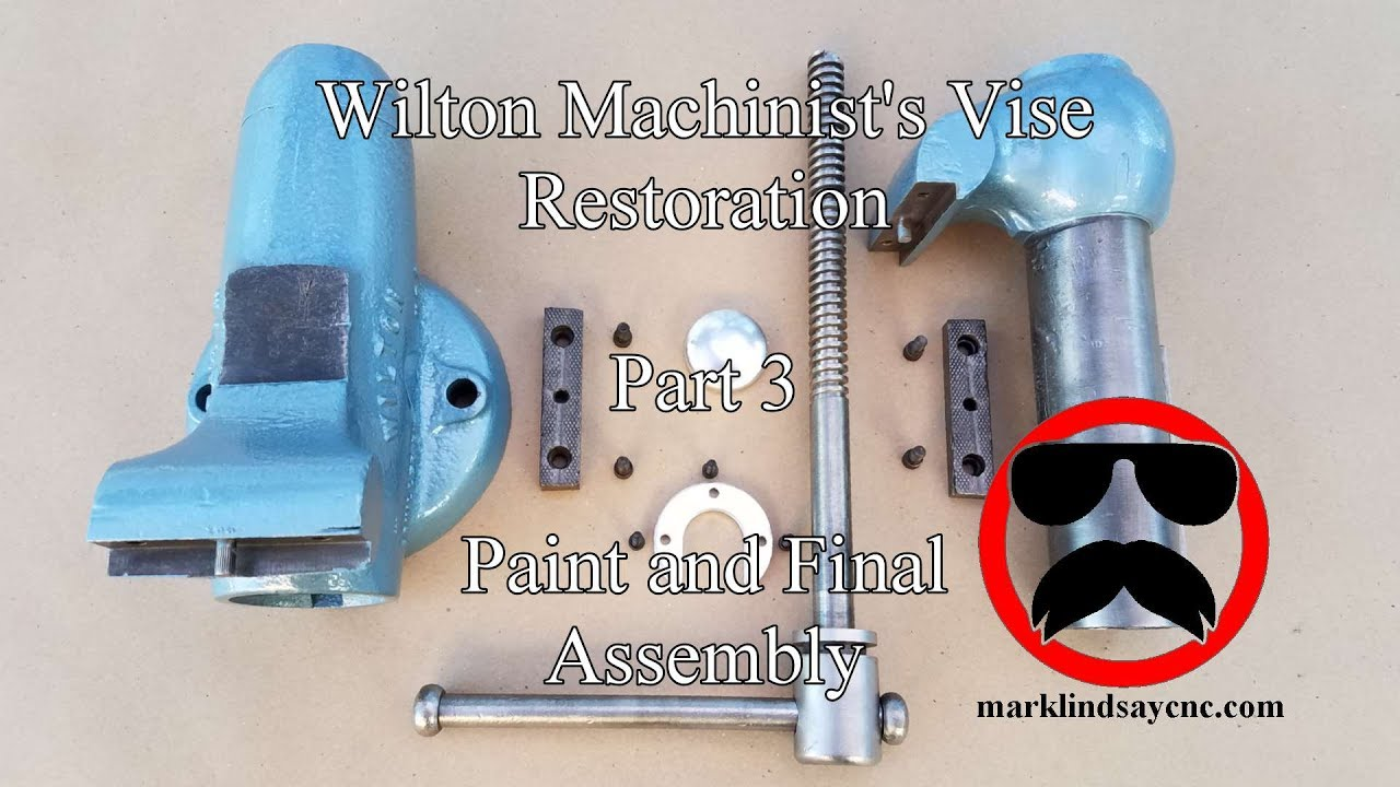 Wilton Vise Parts >> Wilton Vise Restoration Part 3 - Painting and Assembly - YouTube