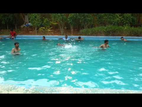 Swimming at Gruhantara in Bangalore by BrZee Team(1)