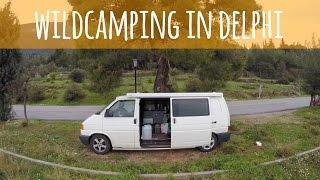 Van Life Vlog - Wild Camping In Delphi